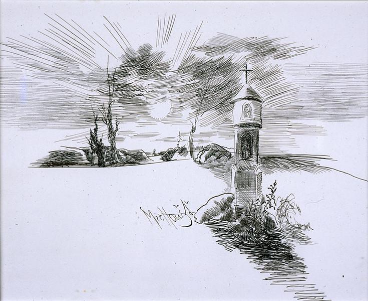 Kresba Miroslav Houst